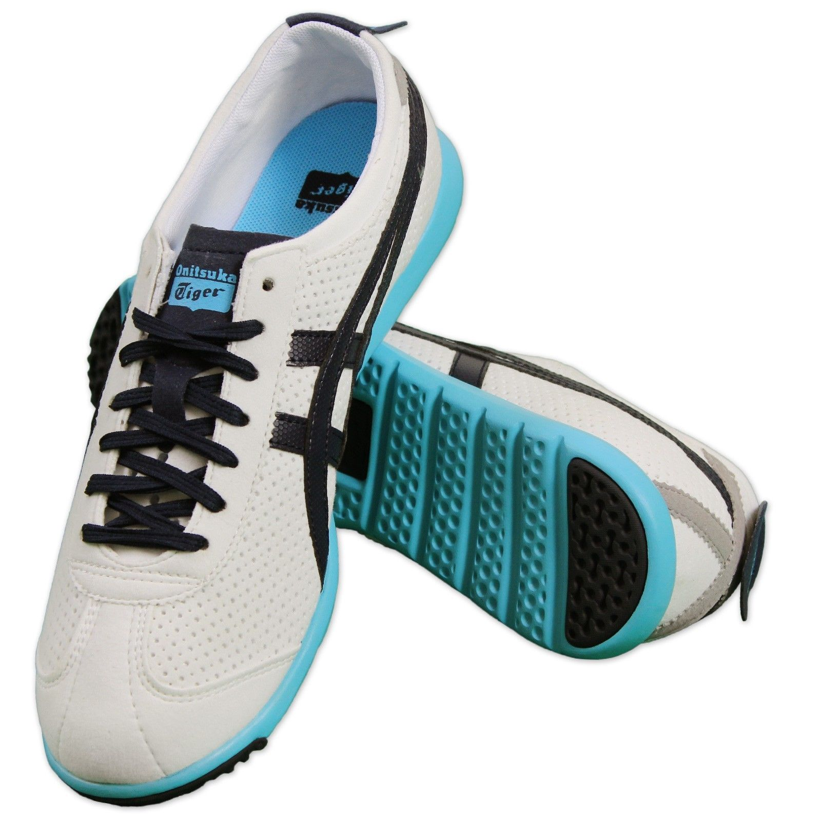 9a41cfe0dd22 Details about ASICS Onitsuka Tiger Rio Runners Sneakers Light Weight Shoes  Casual White Navy
