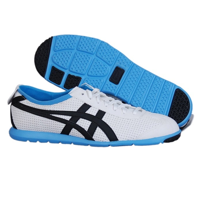 eda6d7713c0d Details about ASICS Onitsuka Tiger Rio Runners Sneakers Light Weight Shoes  Casual White Blue