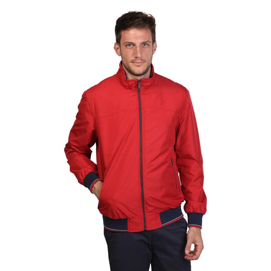 Details about Geox Mens Red Casual Non padded Jacket Free Shipping and Returns
