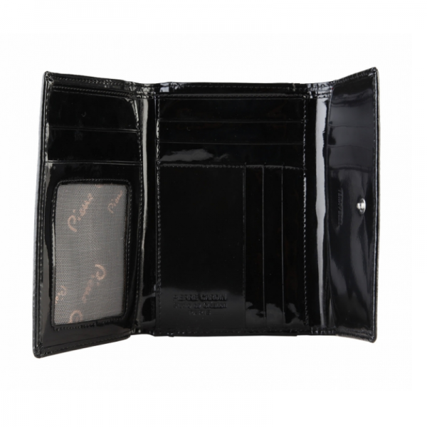 Pierre Cardin Black Wallet with Metal Logo Picture2: