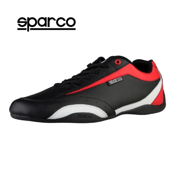 Sparco Zandvoort Black/Red Men's Sneakers Picture1:
