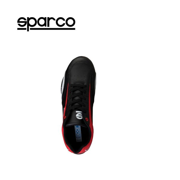 Sparco Zandvoort Black/Red Men's Sneakers Picture4:
