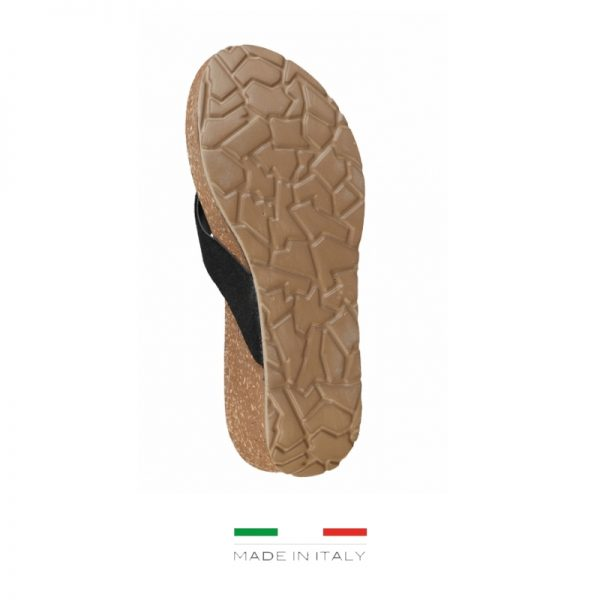 Ana Lublin Women's Black Toe-Pole Wedges Picture5: