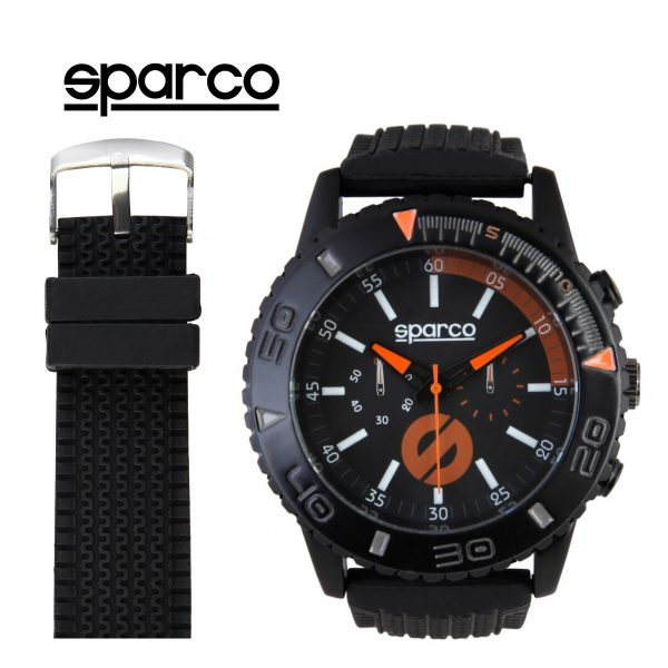 Sparco Jackie Watch Black and Orange Picture1: