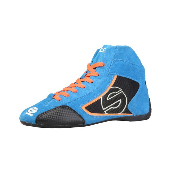 Sparco Yas-Mid Men's Blue Suede Racing Shoes Picture6: