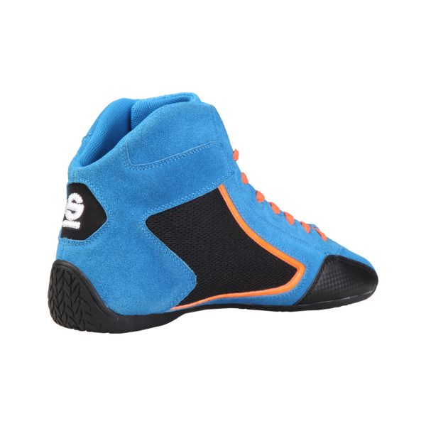 Sparco Yas-Mid Men's Blue Suede Racing Shoes Picture2: