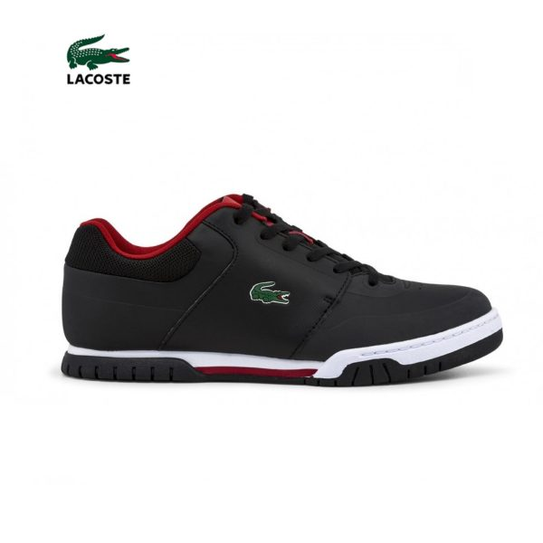 Lacoste Indiana Evo Men's Black and Red Sneakers Picture1: