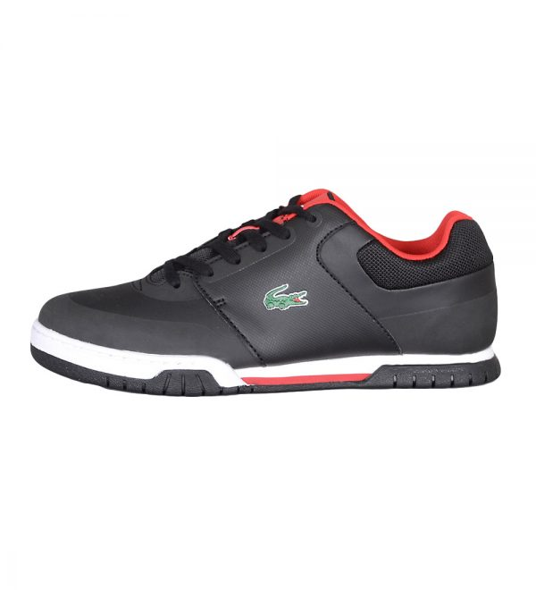 Lacoste Indiana Evo Men's Black and Red Sneakers Picture4: