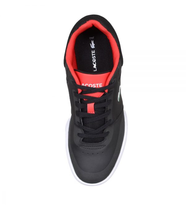 Lacoste Indiana Evo Men's Black and Red Sneakers Picture6: